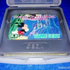 Videojuegos y Consolas: JUEGO PARA SEGA GAME GEAR --- CASTLE OF ILLUSION --- PEDIDO MÍNIMO 10€ --- BOX17. Lote 147784906