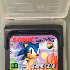 Videojuegos y Consolas: JUEGO SONIC THE HEDGEHOG, PARA SEGA GAME GEAR. Lote 147876994