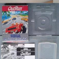 Videojuegos y Consolas: JUEGO SEGA GAME GEAR ORIGINAL OUT RUN COMPLETO CON CAJA Y MANUAL CIB PAL R8420. Lote 150524042
