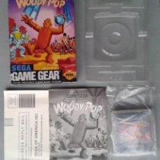 Videojuegos y Consolas: JUEGO SEGA GAME GEAR ORIGINAL WOODY POP COMPLETO CON CAJA Y MANUAL CIB PAL R8421. Lote 150524246