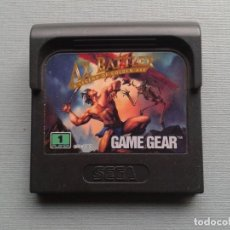 Videojuegos y Consolas: JUEGO SEGA GAME GEAR AX BATTLER LEGEND OF GOLDEN AXE SOLO CARTUCHO PAL R8422. Lote 150524470