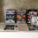 Videojuegos y Consolas: LOTE GAME GEAR CAJAS E INSTRUCCIONES SPACE INVADERS NBA JAM POPILS. Lote 150622502