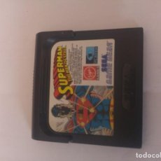 Videojuegos y Consolas: SUPERMAN THE MAN OF STEEL SEGA GAME GEAR . Lote 152644294