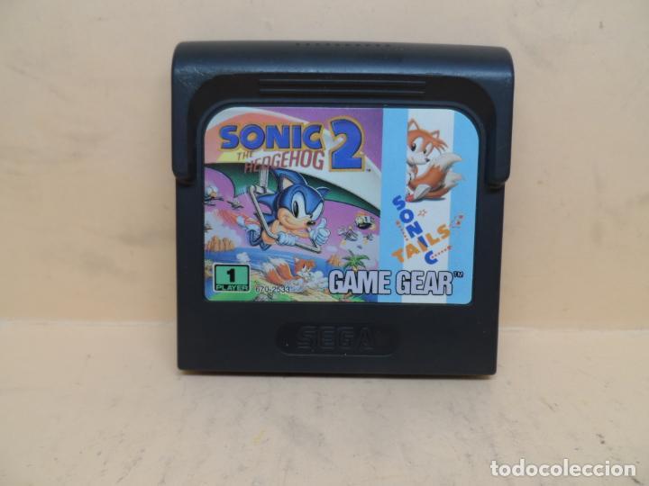 SEGA GAME GEAR SONIC THE HEDGEHOG 2 PAL (Juguetes - Videojuegos y Consolas - Sega - GameGear)