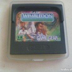 Videojuegos y Consolas: JUEGO DE GAME GEAR : WIMBLEDON . MADE IN JAPAN.. Lote 154295142