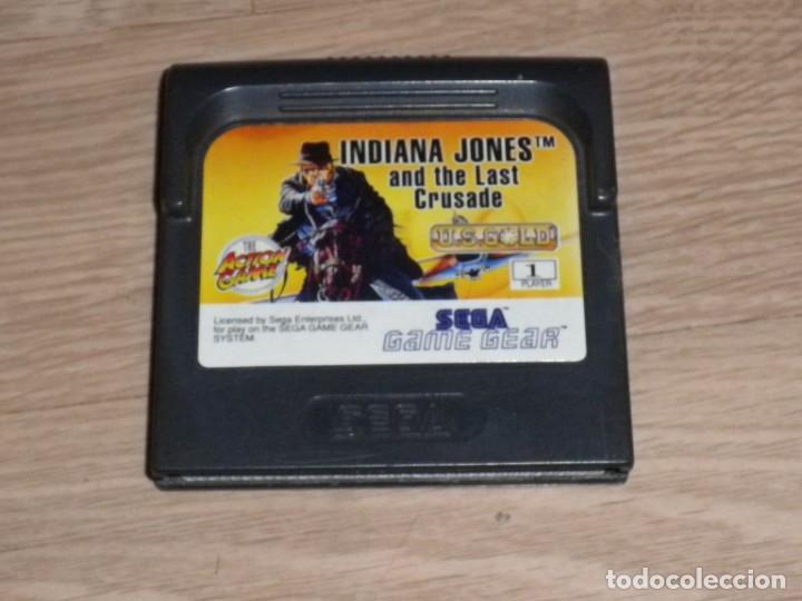 SEGA GAMEGEAR INDIANA JONES AND THE LAST CRUSADE (Juguetes - Videojuegos y Consolas - Sega - GameGear)