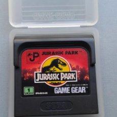 Videojuegos y Consolas: SEGA GAME GEAR JURASSIC PARK INCLUYE FUNDA TODO ORIGINAL PAL R8781. Lote 155221442