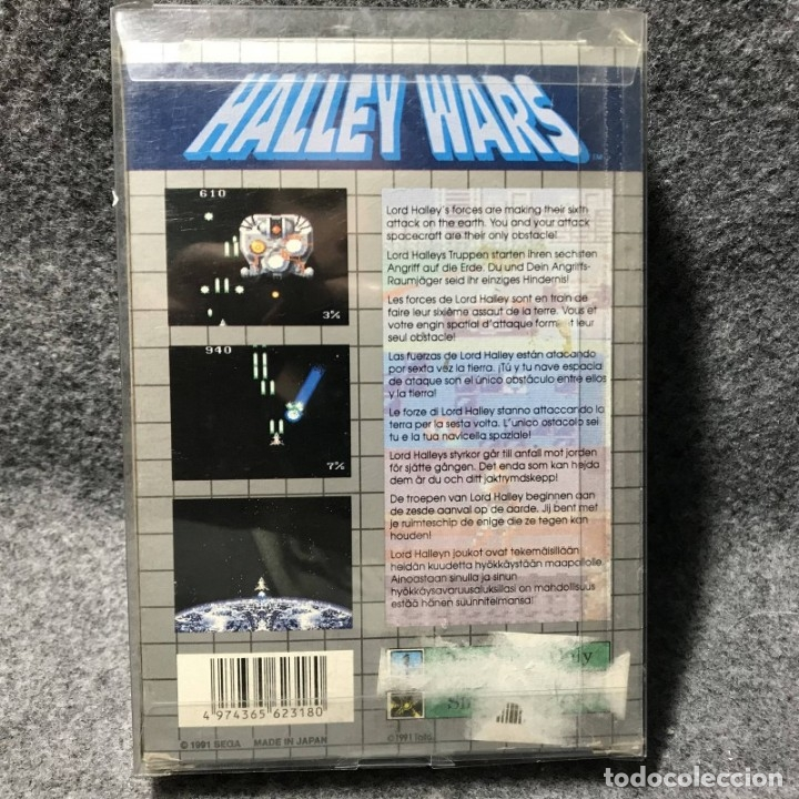 Videojuegos y Consolas: HALLEY WARS SEGA GAME GEAR - Foto 2 - 157240168