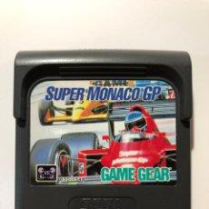 Videojuegos y Consolas: SUPER MONACO GP SEGA GAME GEAR PAL. Lote 159224089