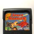 Videojuegos y Consolas: SPACE HARRIER SEGA GAME GEAR PAL. Lote 159224254