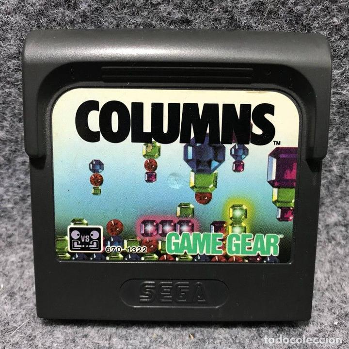 COLUMNS SEGA GAME GEAR (Juguetes - Videojuegos y Consolas - Sega - GameGear)