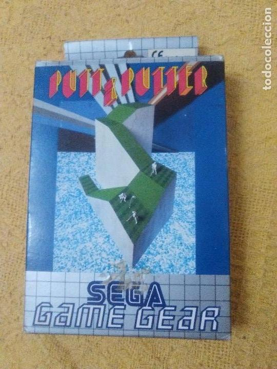 PUTT & PUTTER SEGA GAME-GEAR 1991 (Juguetes - Videojuegos y Consolas - Sega - GameGear)