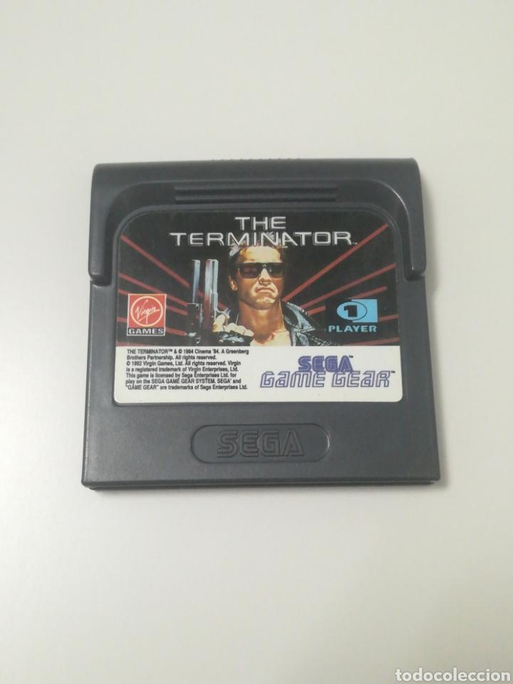 Videojuegos y Consolas: Juego + caja the terminator game gear - sega gamegear - Foto 2 - 165167294