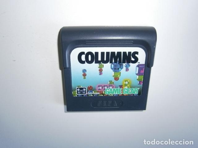 COLUMNS GAME GEAR SEGA (Juguetes - Videojuegos y Consolas - Sega - GameGear)