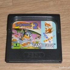 Videojuegos y Consolas: SEGA GAMEGEAR SONIC 2 THE HEDGEHOG. Lote 167035948