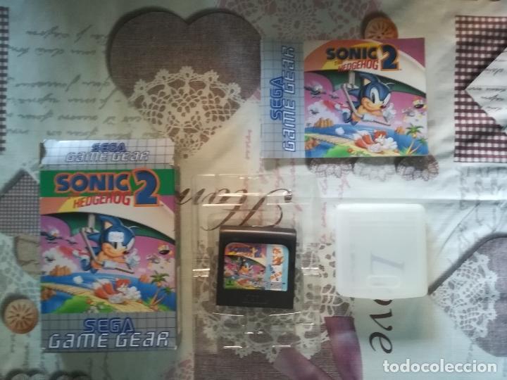 Videojuegos y Consolas: SONIC THE HEDGEHOG 2 GAME GEAR - Foto 2 - 167497316