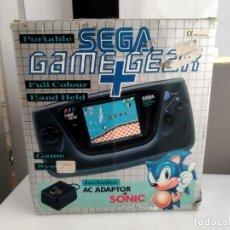 Videojuegos y Consolas: ANTIGUA CONSOLA SEGA GAME GEAR EN CAJA + JUEGO. Lote 168536340