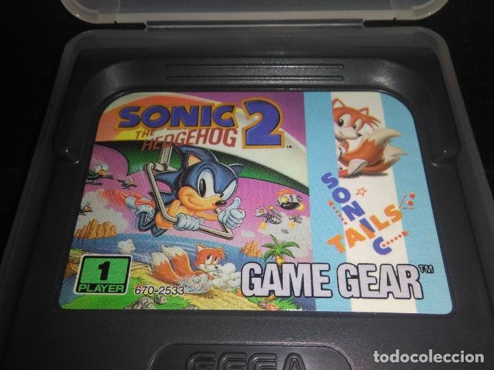 Videojuegos y Consolas: juego sega game gear SONIC 2 THE HEDGEHOG Completo gamegear - Foto 3 - 168833700
