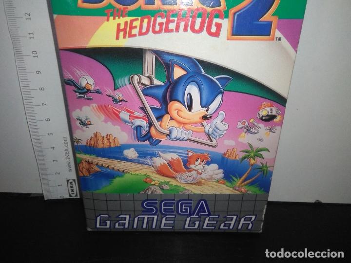 Videojuegos y Consolas: juego sega game gear SONIC 2 THE HEDGEHOG Completo gamegear - Foto 8 - 168833700