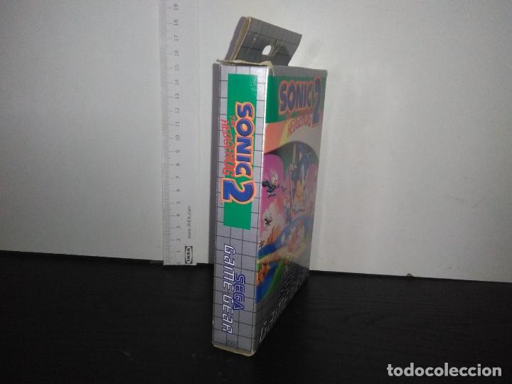 Videojuegos y Consolas: juego sega game gear SONIC 2 THE HEDGEHOG Completo gamegear - Foto 9 - 168833700