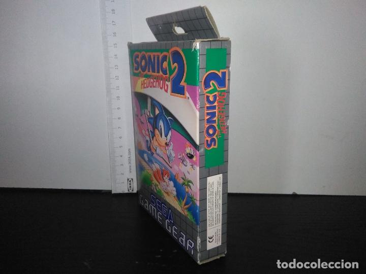Videojuegos y Consolas: juego sega game gear SONIC 2 THE HEDGEHOG Completo gamegear - Foto 12 - 168833700