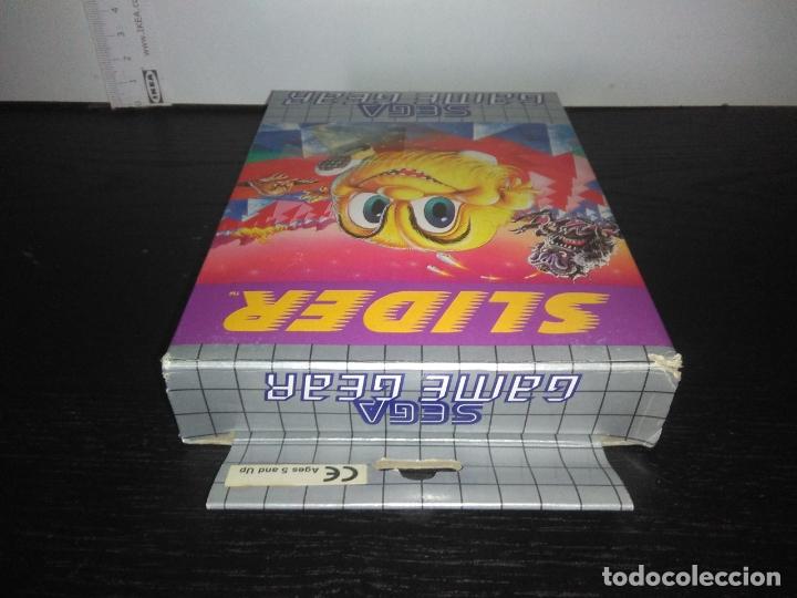 Videojuegos y Consolas: juego sega game gear slider Completo gamegear - Foto 7 - 168843400