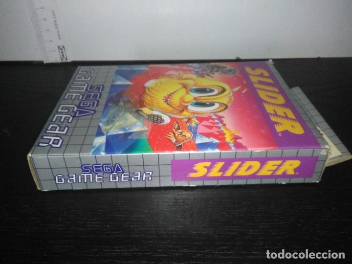 Videojuegos y Consolas: juego sega game gear slider Completo gamegear - Foto 8 - 168843400