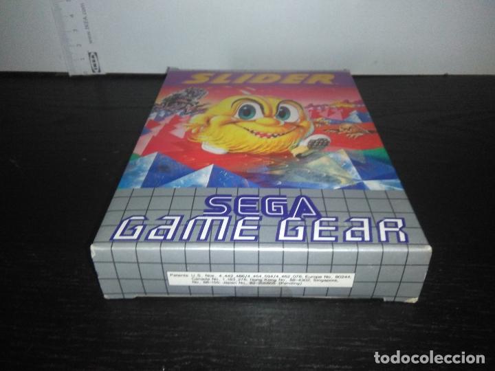 Videojuegos y Consolas: juego sega game gear slider Completo gamegear - Foto 9 - 168843400