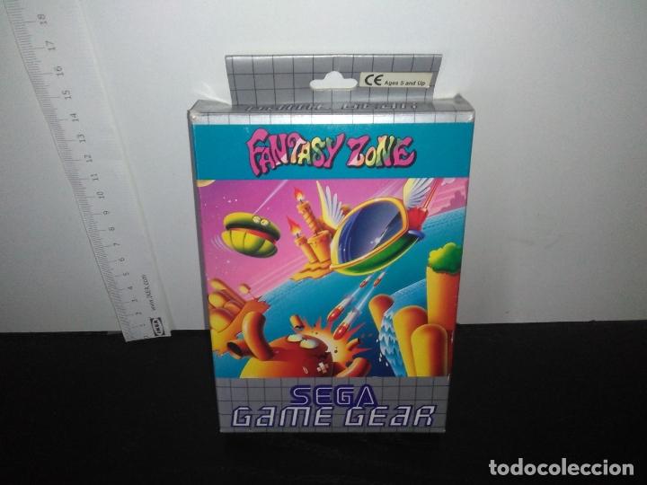 Videojuegos y Consolas: juego sega game gear Fantasy zone Completo gamegear - Foto 5 - 168844056