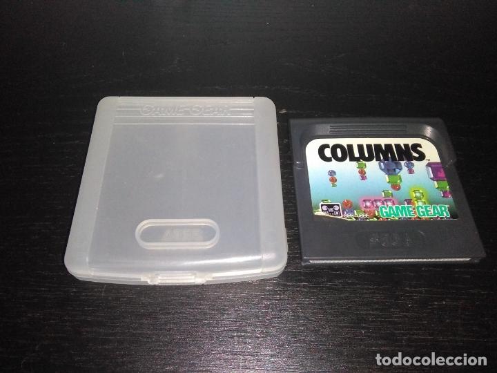 CARTUCHO JUEGO CON FUNDA COLUMNS GAME GEAR SEGA GAMEGEAR (Juguetes - Videojuegos y Consolas - Sega - GameGear)