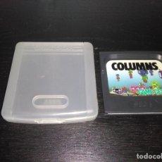 Videojuegos y Consolas: CARTUCHO JUEGO CON FUNDA COLUMNS GAME GEAR SEGA GAMEGEAR. Lote 169053276