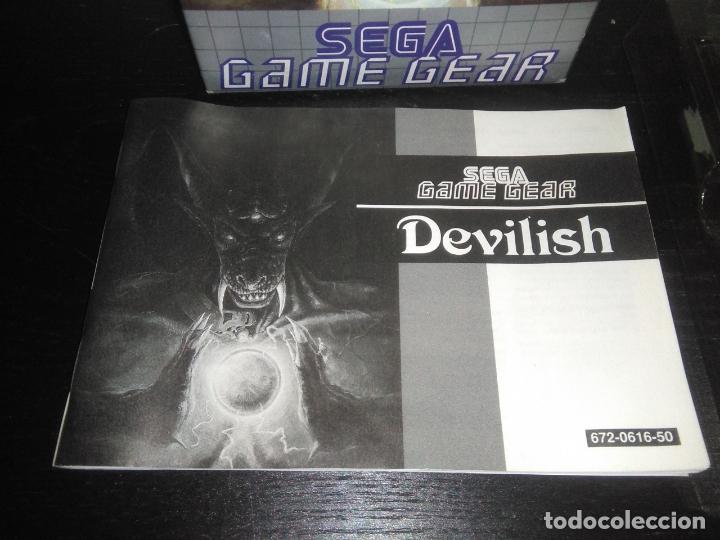 Videojuegos y Consolas: Juego sega gamegear DEVILISH completo game gear - Foto 2 - 169207816