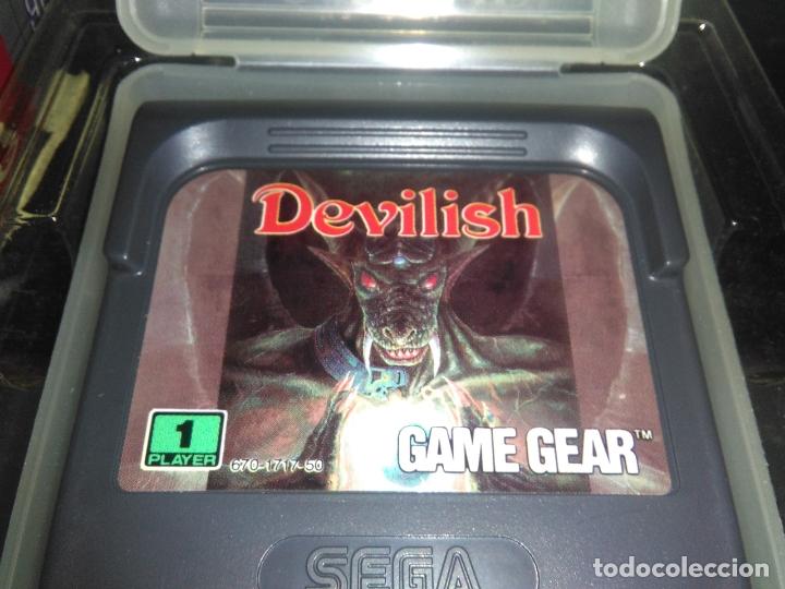 Videojuegos y Consolas: Juego sega gamegear DEVILISH completo game gear - Foto 4 - 169207816