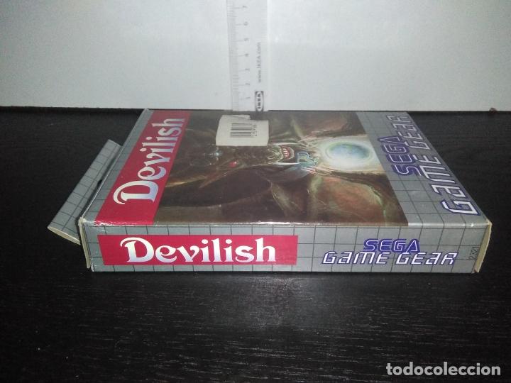 Videojuegos y Consolas: Juego sega gamegear DEVILISH completo game gear - Foto 7 - 169207816