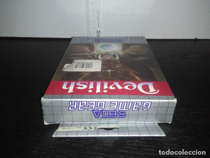 Videojuegos y Consolas: Juego sega gamegear DEVILISH completo game gear - Foto 8 - 169207816