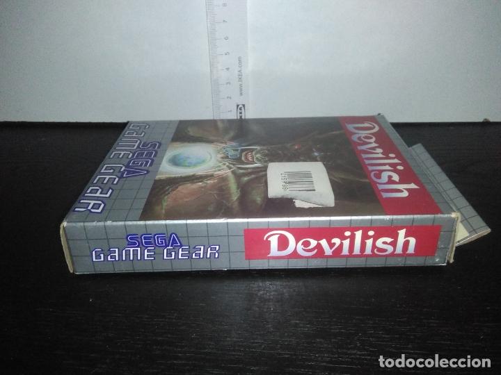 Videojuegos y Consolas: Juego sega gamegear DEVILISH completo game gear - Foto 9 - 169207816