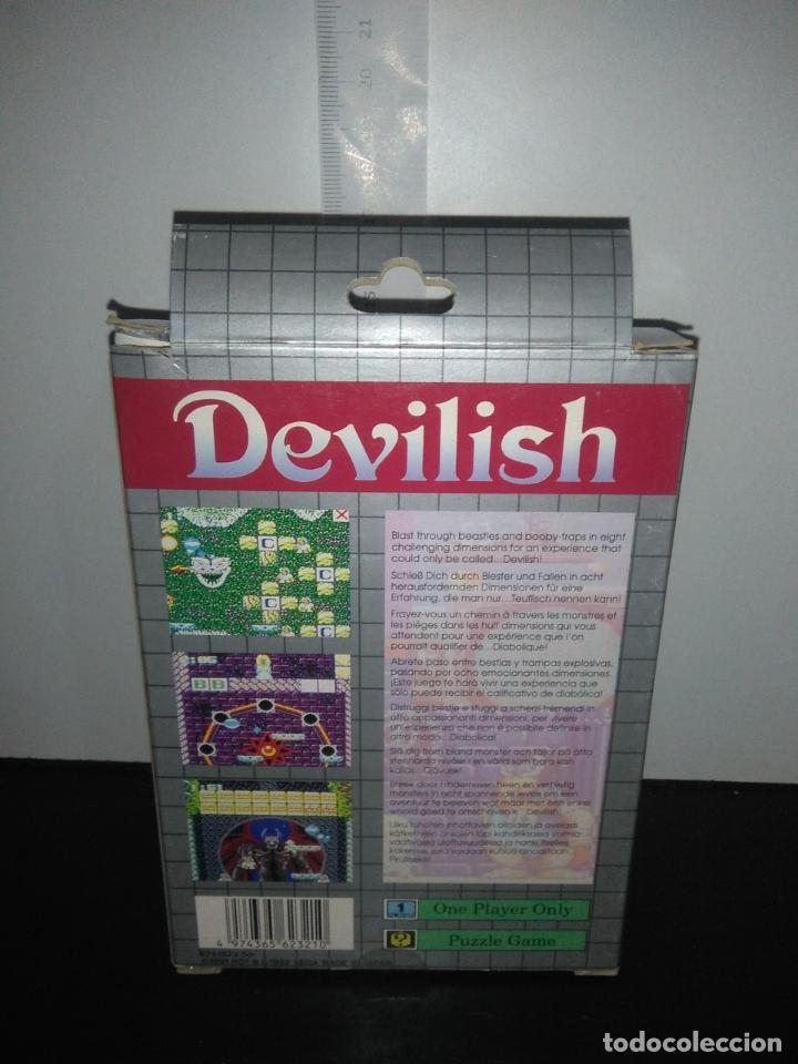 Videojuegos y Consolas: Juego sega gamegear DEVILISH completo game gear - Foto 10 - 169207816