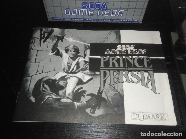 Videojuegos y Consolas: Juego sega gamegear Prince of persia completo game gear - Foto 2 - 169208864