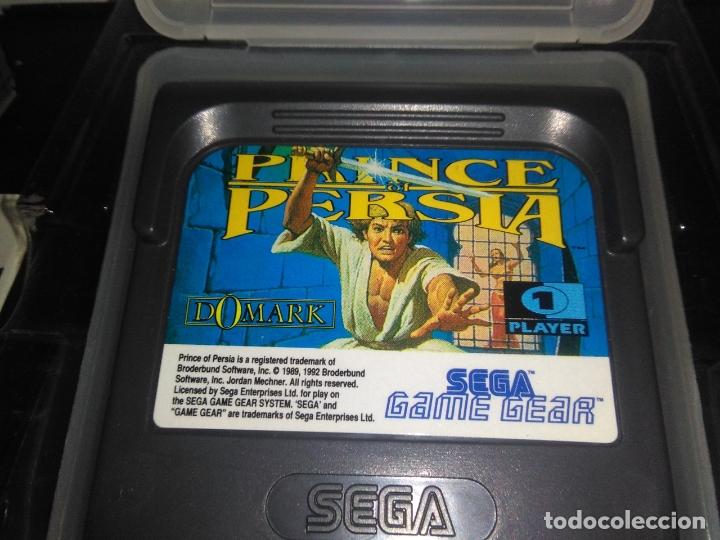 Videojuegos y Consolas: Juego sega gamegear Prince of persia completo game gear - Foto 4 - 169208864