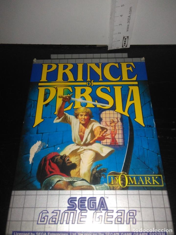 Videojuegos y Consolas: Juego sega gamegear Prince of persia completo game gear - Foto 7 - 169208864