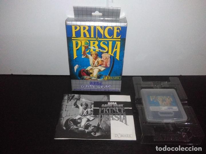 JUEGO SEGA GAMEGEAR PRINCE OF PERSIA COMPLETO GAME GEAR (Juguetes - Videojuegos y Consolas - Sega - GameGear)