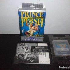 Videojuegos y Consolas: JUEGO SEGA GAMEGEAR PRINCE OF PERSIA COMPLETO GAME GEAR. Lote 169208864