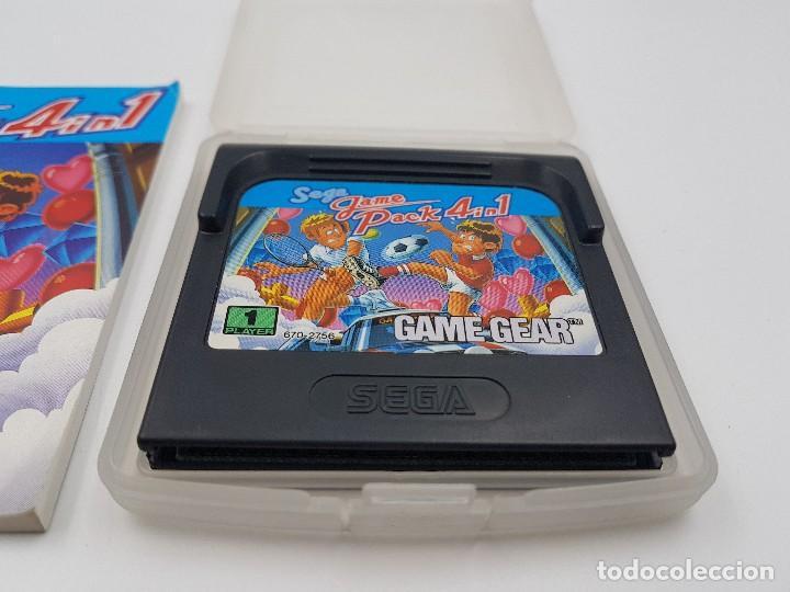 Videojuegos y Consolas: JUEGO GAME PACK 4 IN 1+ FUNDA+ INSTRUCCIONES SEGA GAME GEAR.COMBINO ENVÍOS - Foto 2 - 169642542