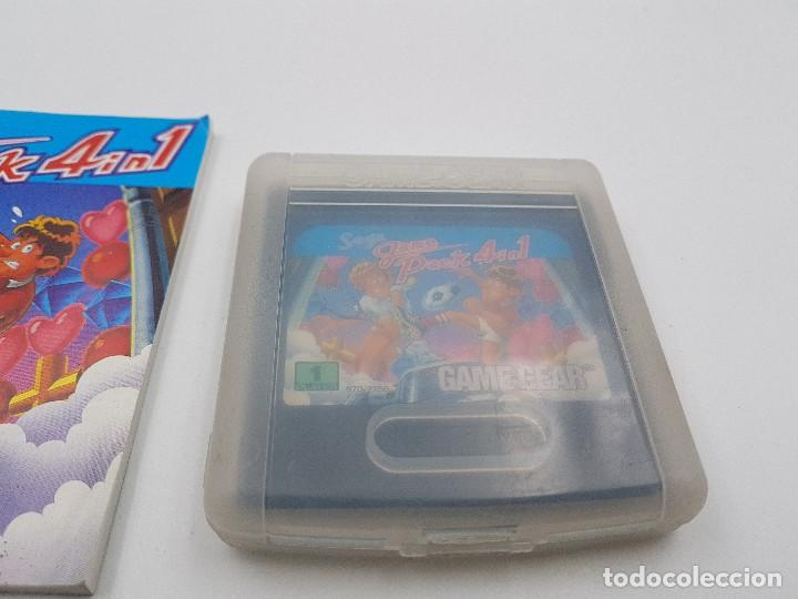 Videojuegos y Consolas: JUEGO GAME PACK 4 IN 1+ FUNDA+ INSTRUCCIONES SEGA GAME GEAR.COMBINO ENVÍOS - Foto 4 - 169642542
