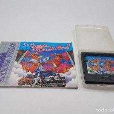 Videojuegos y Consolas: JUEGO GAME PACK 4 IN 1+ FUNDA+ INSTRUCCIONES SEGA GAME GEAR.COMBINO ENVÍOS. Lote 169642542
