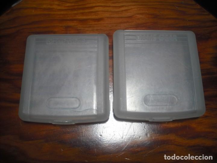 Videojuegos y Consolas: LOTE DE 2 FUNDAS PARA JUEGOS DE GAMEGEAR - Foto 2 - 173534013