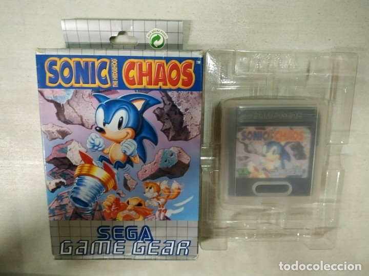 Sonic The Hedgehog Chaos Sega Game Gear Gg Sold Through Direct Sale 173965653
