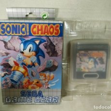Videojuegos y Consolas: SONIC THE HEDGEHOG CHAOS - SEGA GAME GEAR - GG COMPLETO. Lote 173965653