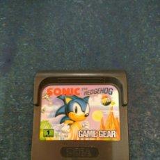 Videojuegos y Consolas: SONIC THE HEDGEHOG - SEGA GAME GEAR - GG. Lote 173965688