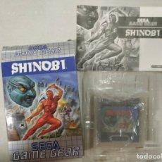 Videojuegos y Consolas: SHINOBI - SEGA GAME GEAR - GG COMPLETO. Lote 173966409